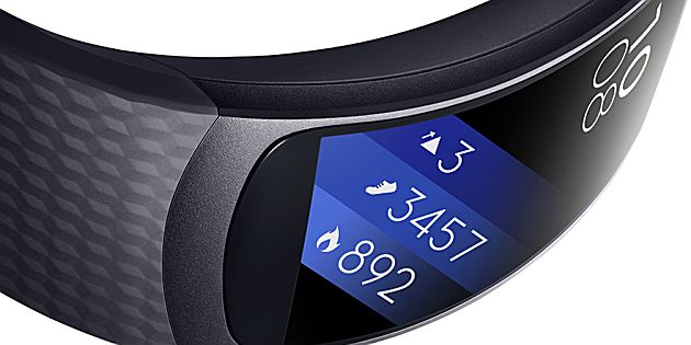 Samsung Gear Fit2 en IconX