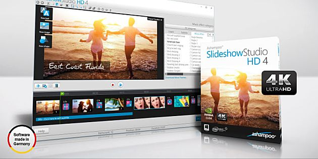 Review: Ashampoo Slideshow Studio HD 4