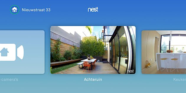 Nest-app voor Apple TV