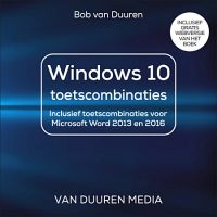 Windows 10 toetscombinaties