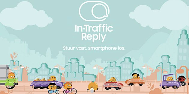 Samsung lanceert In-Traffic Reply app