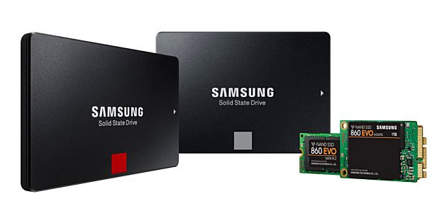 Samsung introduceert nieuwe solid state drives