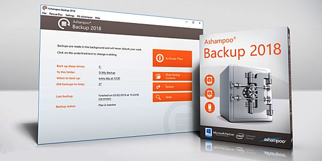 Download: Ashampoo Backup 2018