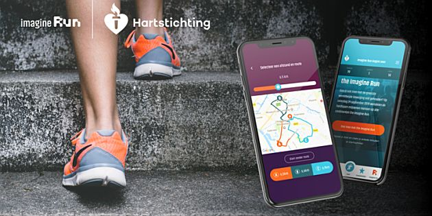 Imagine Run App brengt Nederland in beweging