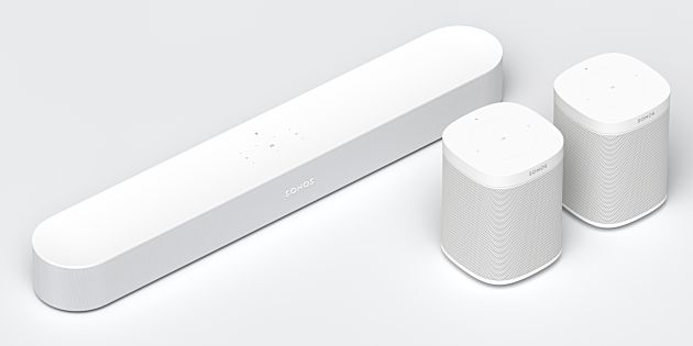 Sonos introduceert Sonos Beam smart speaker