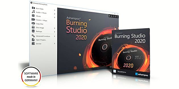 Ashampoo Burning Studio 2020