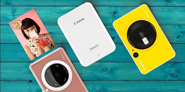 Canon Zoemini All-in-One instant-cameraprinters