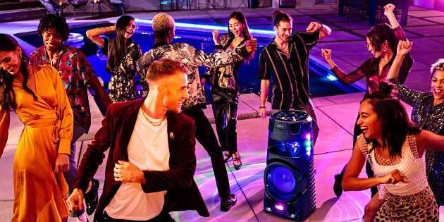 Sony lanceert nieuwe serie High Power Audio-partyspeakers
